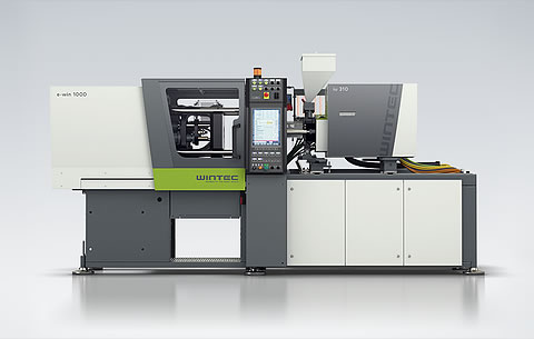 Wintec e-win injection moulding machine